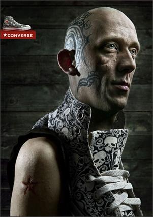 Converse Tatuaje Cabeza