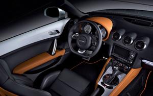 Audi TT Clubsport Quattro Interior