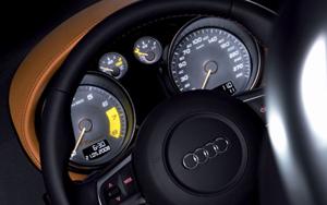Audi TT Clubsport Quattro volante y cuadro de mandos