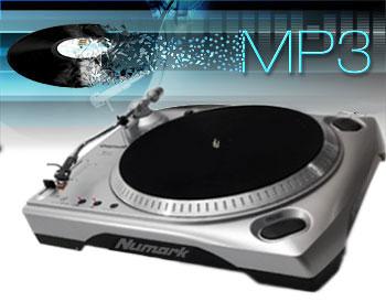 Tocadiscos USB a MP3