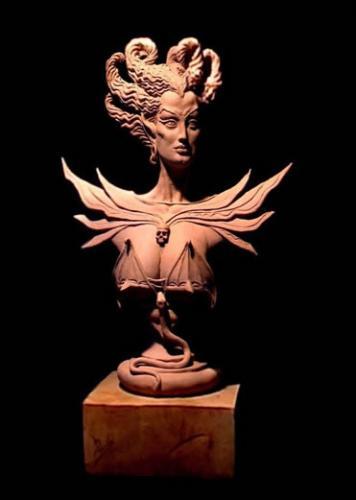 Esculturas de Valeriano Barrado - Morgana