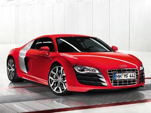 Audi R8 vista lateral