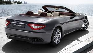 Maserati GranCabrio Vista trasera