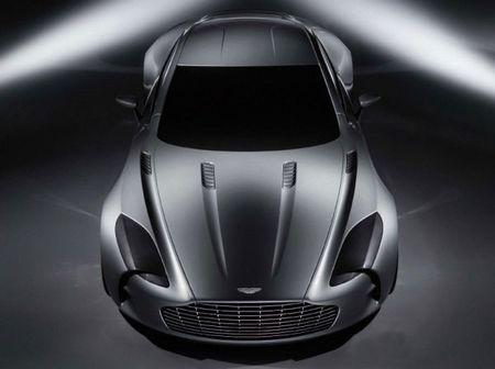 Frontal Aston Martin One-77