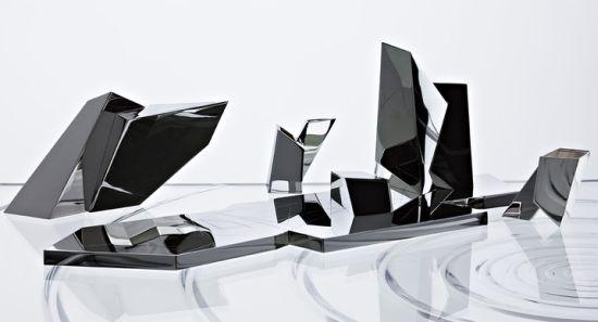 juego de café y té de Daniel Libeskind para Sawaya & Moroni