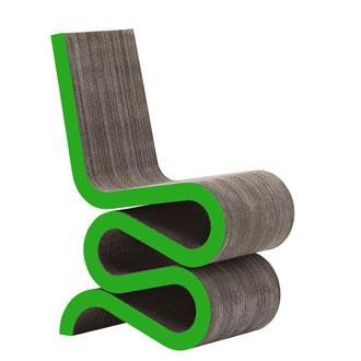 Silla Wiggle Side de Frank Gehry