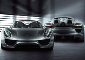 Porsche hibrido 918