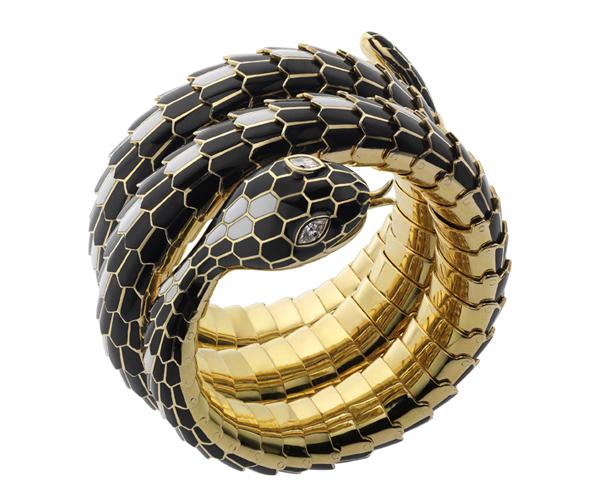 Brazalete Serpenti Bulgari 1965