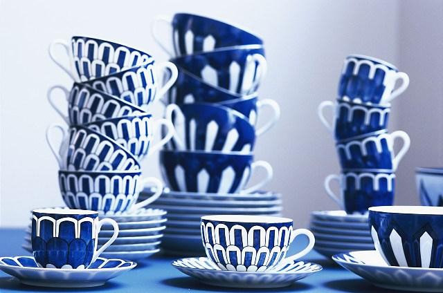 Colección Porcelana Bleus d' Ailleurs de Hermès