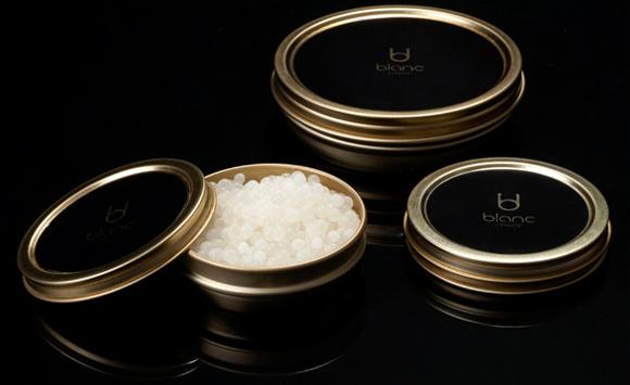 Huevos de Caracol Blanc Caviar