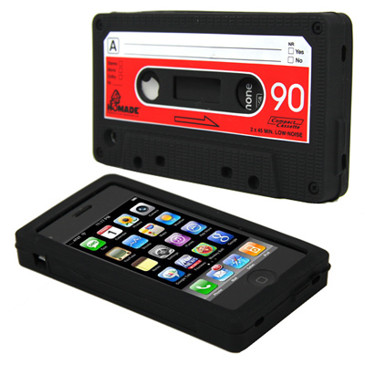 Funda retro casette para iphone
