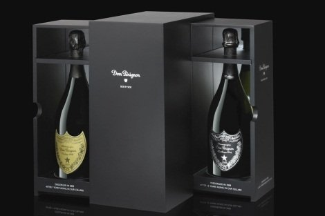 Cofre Side by Side de Dom Pérignon