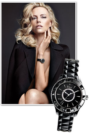 Reloj coleccion Dior VIIII Charlize Theron