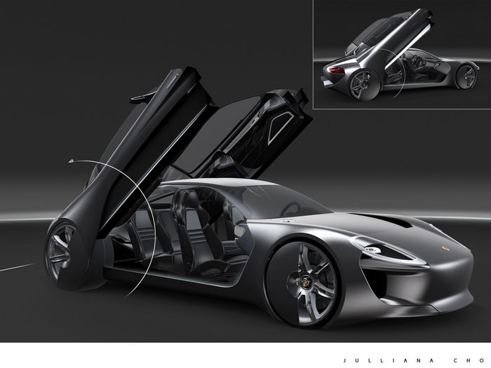Porsche concept by Julianna Cho