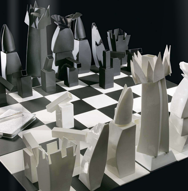 Juego de ajedrez de Frank Gehry